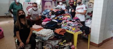 Torcida organizada Afeganistão arrecada mais de 500 peças em campanha solidária