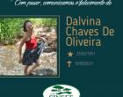 Com pesar, o Grupo Sinsef comunica o falecimento da Sra. Dalvina Chaves de Oliveira