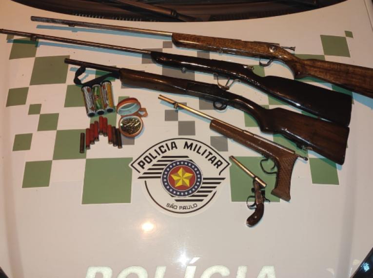 Polícia Ambiental prende homem por porte ilegal de arma de fogo
