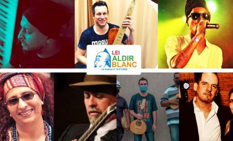 Festival Aldir Blanc destaca a música dos artistas de Araraquara neste domingo