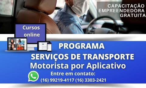 Sebrae oferece curso online e gratuito de gestão para motoristas por aplicativo
