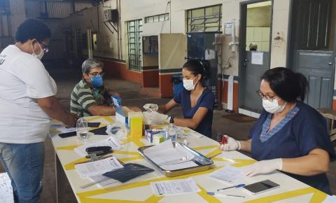Prefeitura leva testagem em massa até indústrias de Trabiju