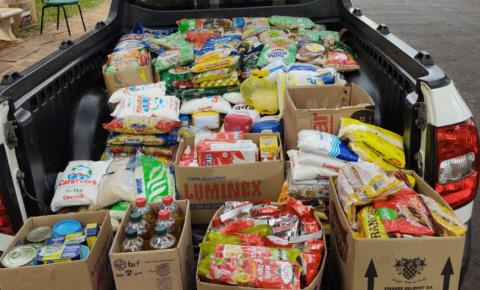 Prefeitura de Boa Esperança do Sul arrecada mais de 1,5 tonelada de alimentos com ajuda de moradores