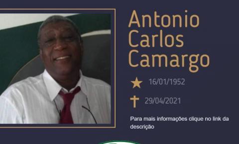 Com pesar, o Grupo Sinsef se despede do Sr. Antonio Carlos Camargo