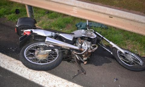 Motociclista morre em acidente grave quando voltava do trabalho
