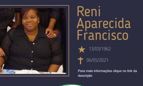 Com pesar, o Grupo Sinsef comunica o falecimento da Sra. Reni Aparecida Francisco