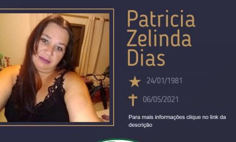Com pesar, o Grupo Sinsef comunica o falecimento da Sra. Patrícia Zelinda Dias