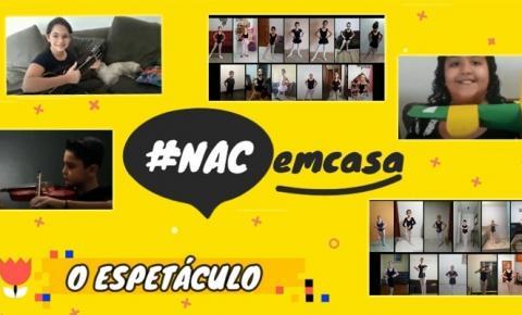 Instituto Fábrica de Vencedor promove o #NACemcasa – o espetáculo