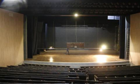 Teatro Municipal pode ser entregue no segundo semestre deste ano, diz Prefeitura