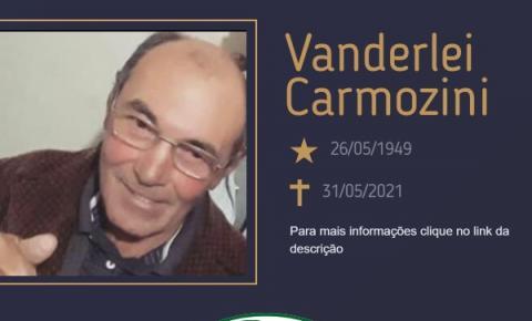 Com pesar, o Grupo Sinsef comunica o falecimento do Sr. Vanderlei Carmozini