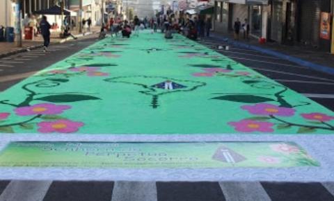 Matão não terá procissão pelas ruas com tapetes coloridos no dia de Corpus Christi