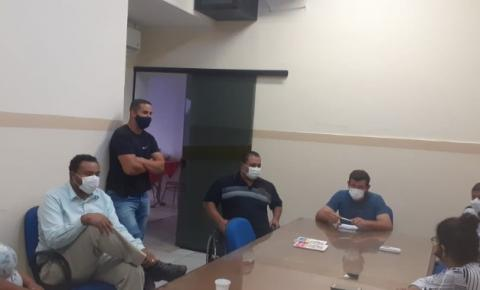 Vereadores de Trabiju se reúnem com prefeito para discussão de novas medidas de combate ao coronavírus