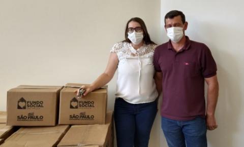 Trabiju recebe doação de mais 95 cestas do Fundo Social de São Paulo