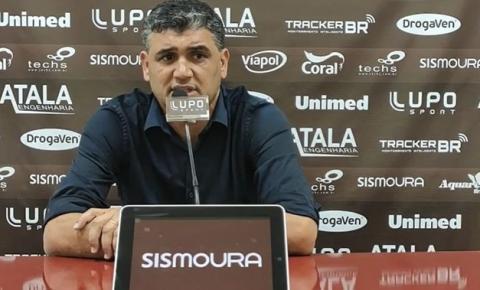 Diretor de futebol Sidiclei Menezes deixa a Ferroviária