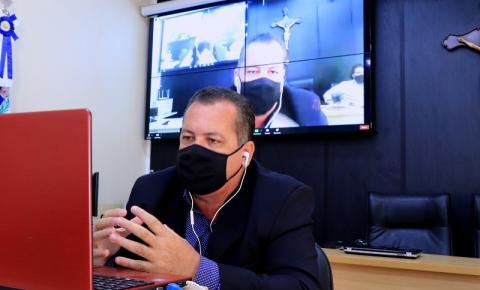 Presidente da Câmara, Aloísio Boi (MDB), afirma que tem sofrido ameaças de empresário. Entenda