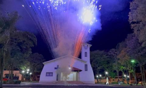 Cidade da região faz primeira queima de fogos silenciosa da sua história