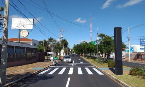 Avenida Bento de Abreu se prepara para virar a Paulista de Araraquara