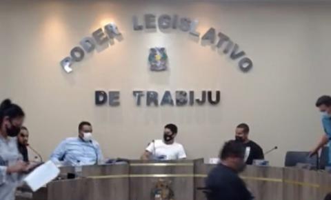 Vereadores se retiram de sessão ordinária nesta sexta (20) em Trabiju