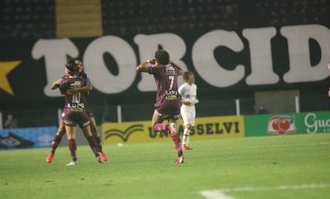 Guerreiras Grenás empatam com o Santos e estão na semifinal do Brasileirão Feminino