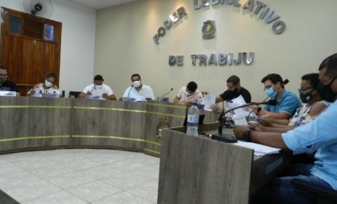 Vereadores de Trabiju votam projeto de ficha limpa para servidores de cargos comissionados