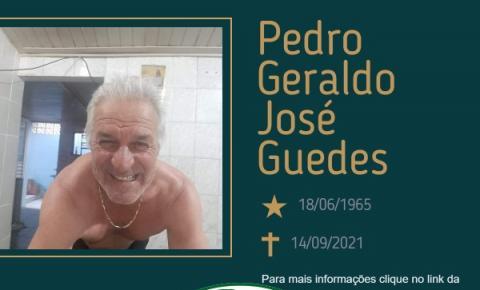 Com pesar, o Grupo Sinsef comunica o falecimento do Sr. Pedro Geraldo José Guedes