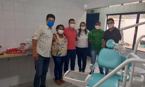 Trabiju inaugura novo consultório odontológico escolar para os alunos da cidade