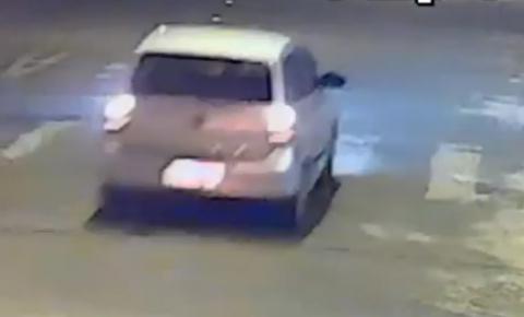 Imagens mostram momento exato de atropelamento e fuga, em Gavião Peixoto