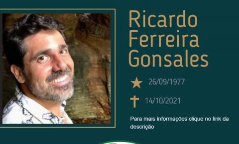 Com pesar, o Grupo Sinsef se despede de Ricardo Ferreira Gonsales